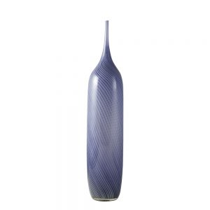 purple murano glass bottle
