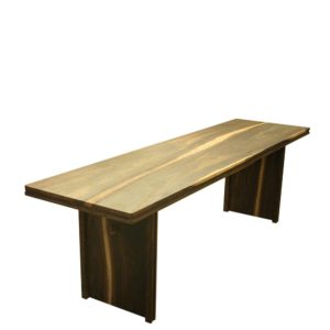 Teak wood 8 seater dining table by Anacleto Spazzapan