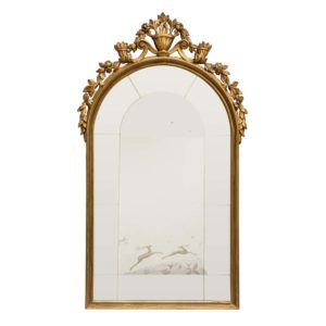 1927 Italian carved mirror