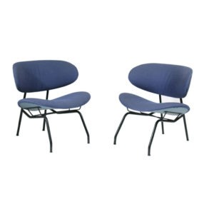 1950s side chairs by Gastone Rinaldi