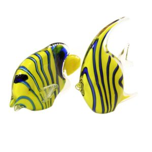 Murano glass fishes
