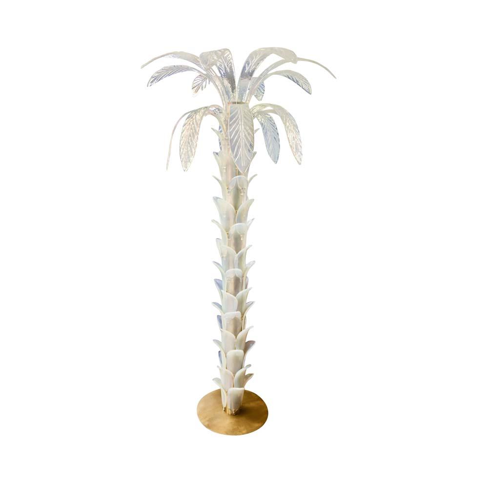 Murano Palm tree lamp