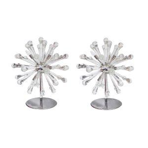 Pair of Sputnik table lamps