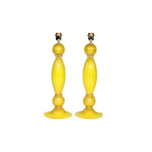 Yellow table lamps