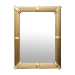 Gold Venetian Rigatello Mirror