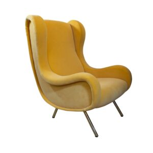 Yellow upholstery Marco Zanuso