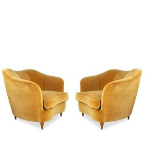 Gio Ponti Casa Giardino armchairs