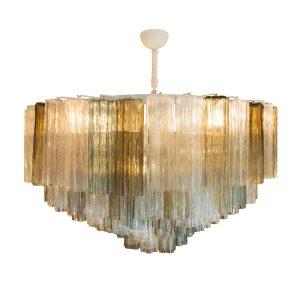 1950s Murano Tronchi Ceiling Light