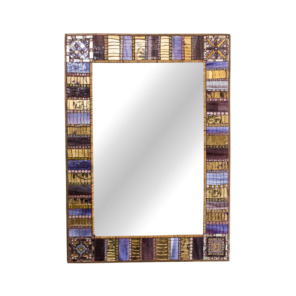 Mosaic Mirror by Dusciana Bravura