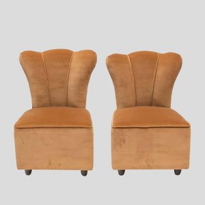 Pair of 1950s Italian design Side Chairs