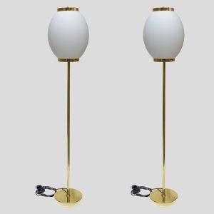 Midcentury style floor lamps