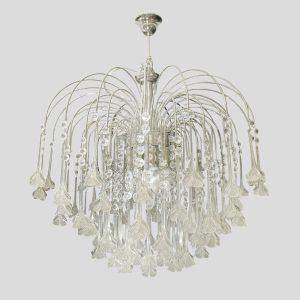 Cenedese glass rain chandelier