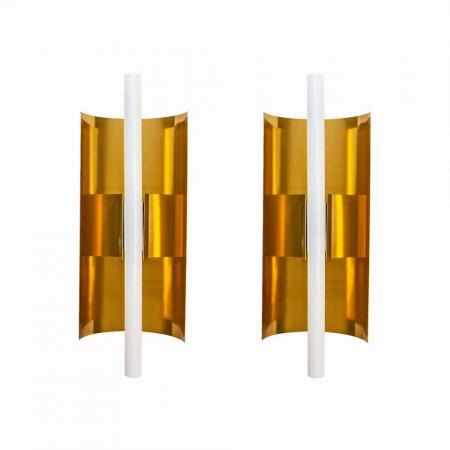 Pair of Gio Pont wall lights