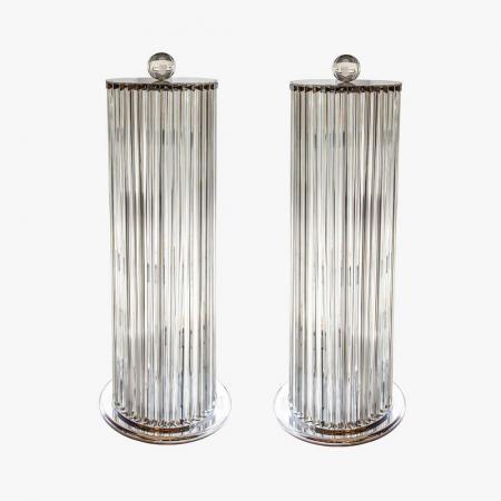 column floor lamps