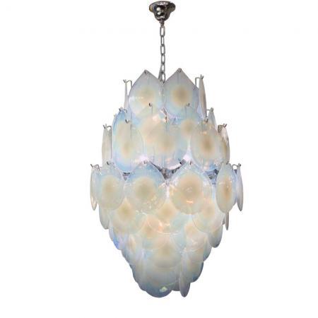 Vistosi tear shaped chandelier