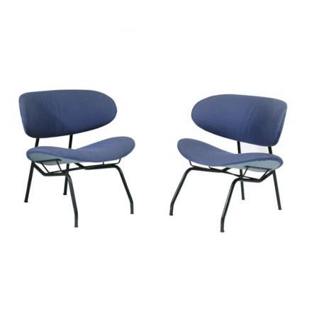 1950s side chairs by Gastone Rinaldi