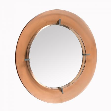 Cristal Arte Circular Mirror