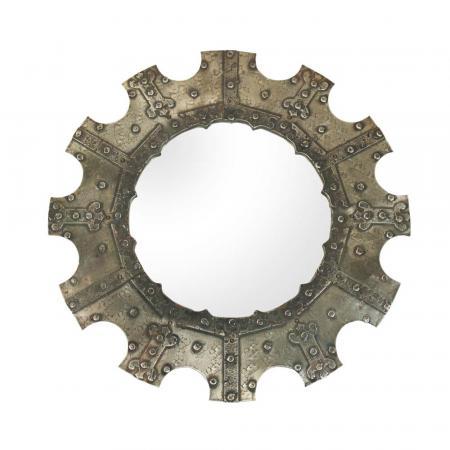 1950s Italian Wrought iron mirror