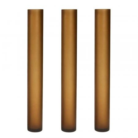 Set of three Murano Vases