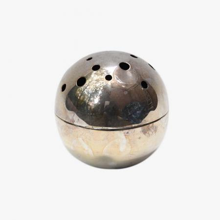 Christofle spherical flower holder