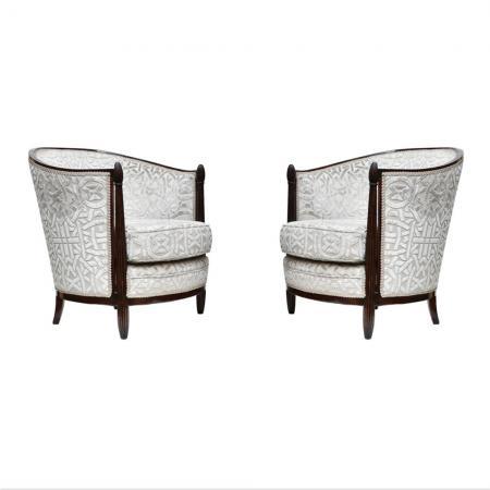 Paul Follot armchairs