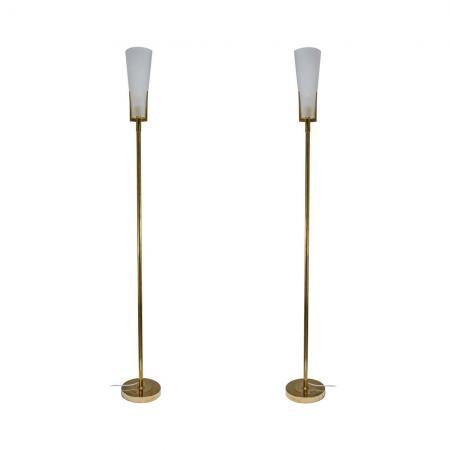 Stilnovo style floor lamps