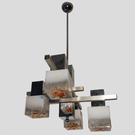 Sciolari for Mazzega ceiling light