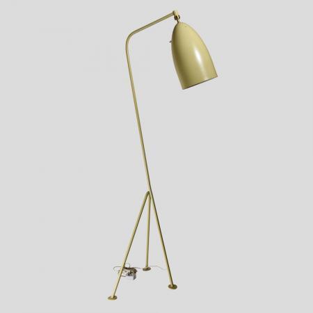Vintage Grasshopper floor lamp by Greta Grossman