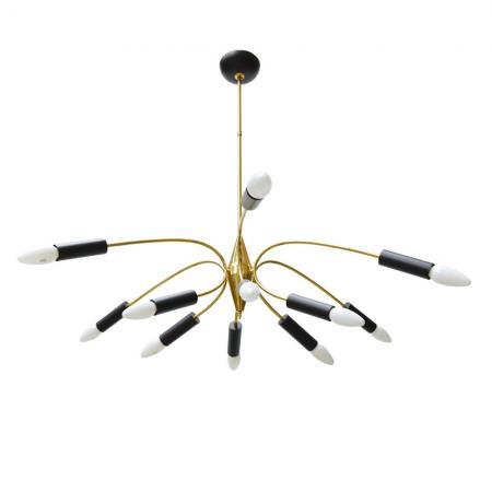 12 light Stillovo Sputnik ceiling light